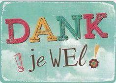 Dank Je Wel